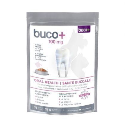 Baci+ buco+100mg, chat et chien (35 sachets)