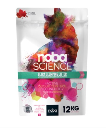 Science litière agglo. 12 kg – Noba science