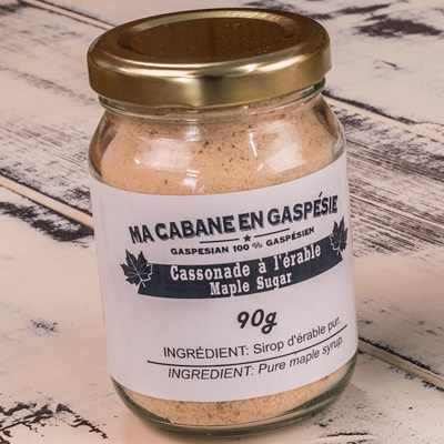 Cassonade à l'érable