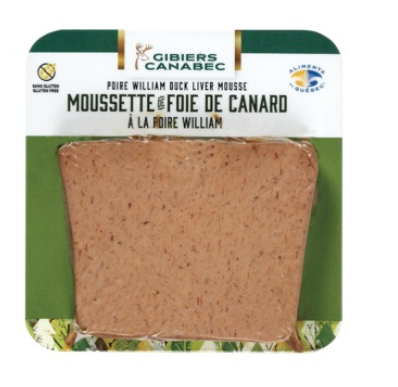 Moussette foie de canard poire William 56783